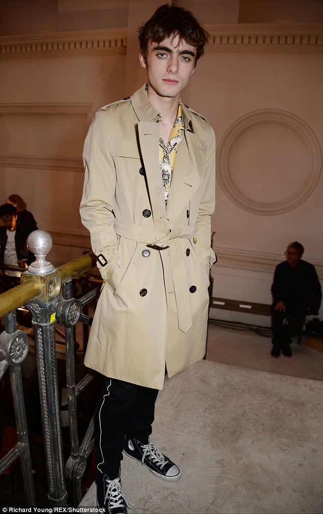 Lennon Gallagher is spitting image of dad Liam at LFW  Daily Mail Online