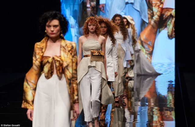 The New Generation catwalk is a place where emerging designers can present their creations to the industry