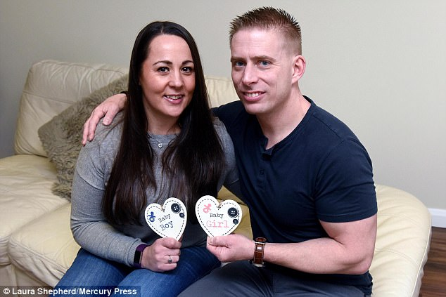 Lynette Gillard and her partner Nathan Hart, 37, (pictured) welcomed their son Seth two weeks ago