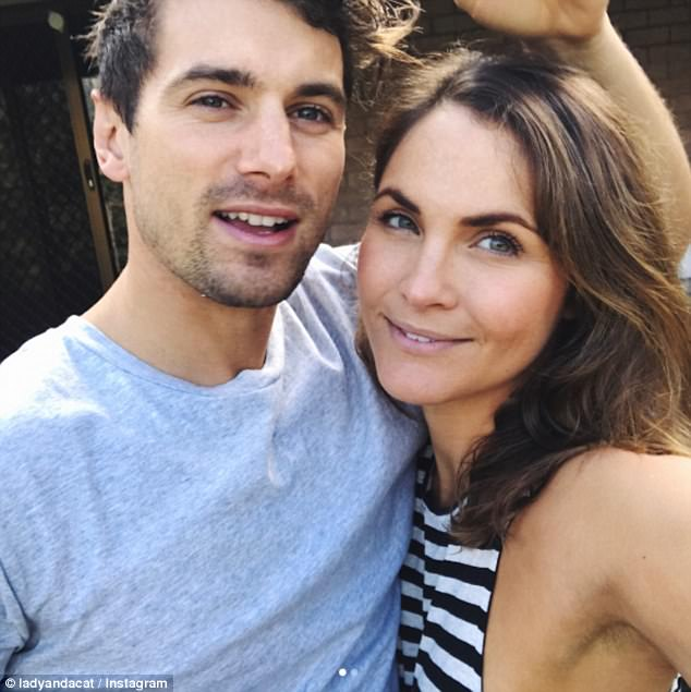 Taking it slow: The new couple told The Project on Friday they had no plans to move in together, with Laura living close to Matty in inner Sydney suburb Rushcutters Bay