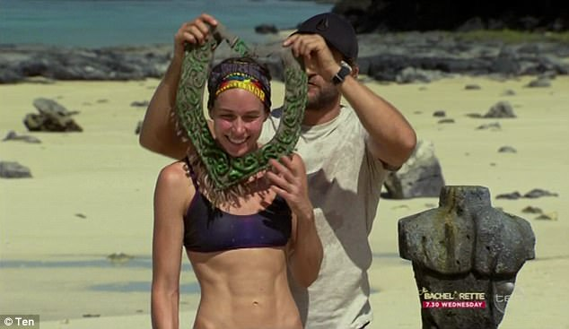 Safe and sound!Ziggy won the immunity challenge, keeping her safe from elimination at Tribal Council