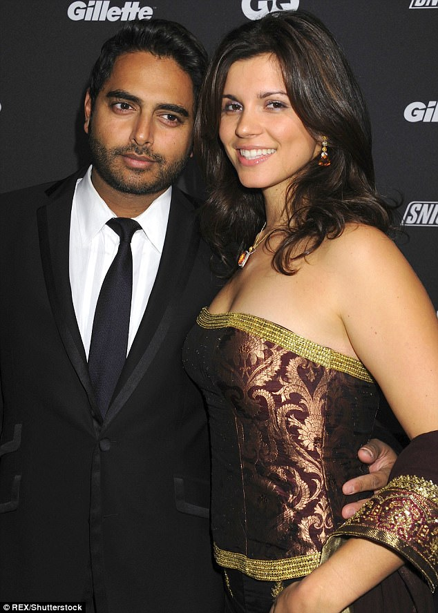 A pretty friend: Here the brand guru is seen with a date at the GQ Gentlemen's Ball in New York in 2010