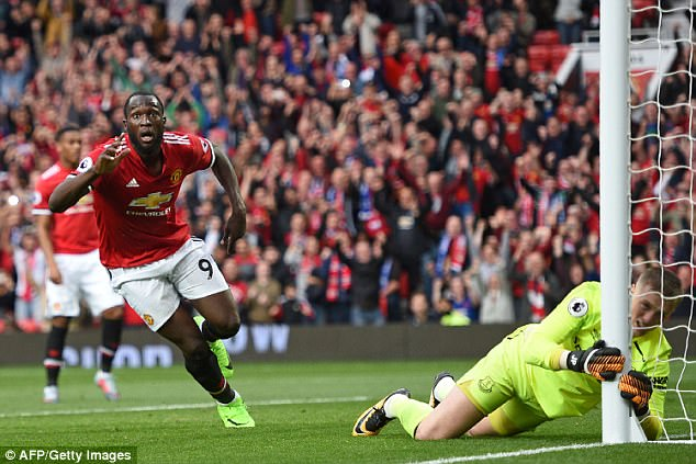 Romelu Lukaku recovered from an bad miss to set up second goal and score the third