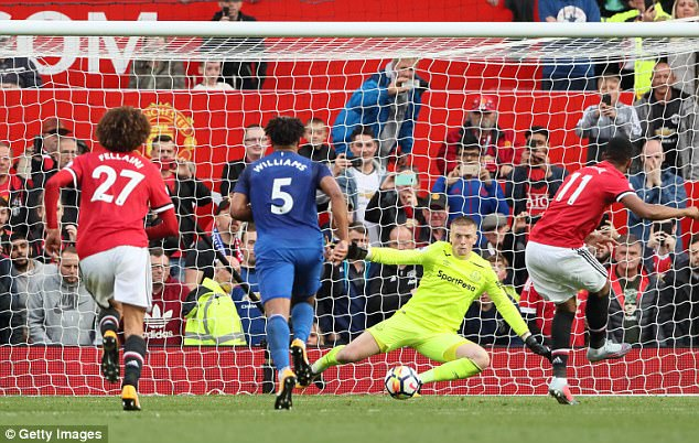 Neville noted a pattern emerging whereby the Red Devils remain patient and score late