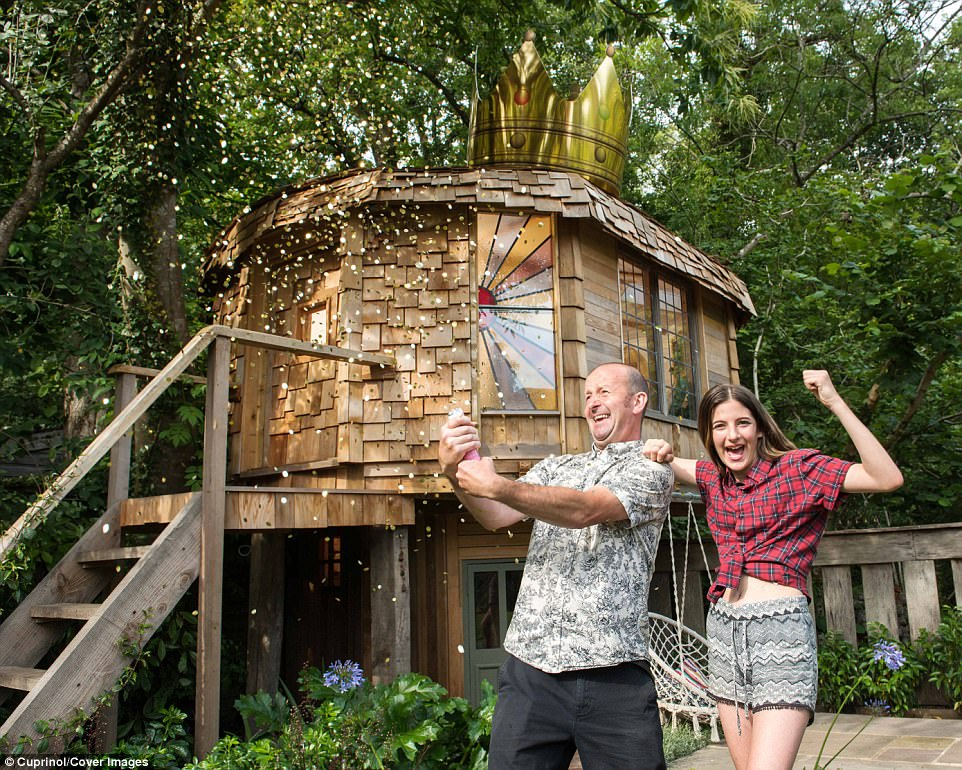 Mushroom Shaped Treehouse Named Britains Best Shed