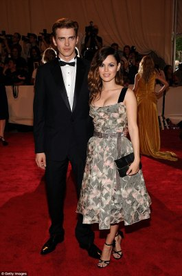 The actors - both 36 - met on the set of Jumper in 2007 and got engaged in December 2008. They are pictured in 2010 shorty before they broke up briefly
