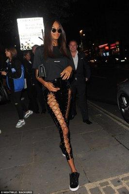 Would You Rock This Lace-up PVC Leggings Like Jourdan Dunn