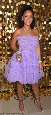 Looking good: Rihanna seemed in great spirits
