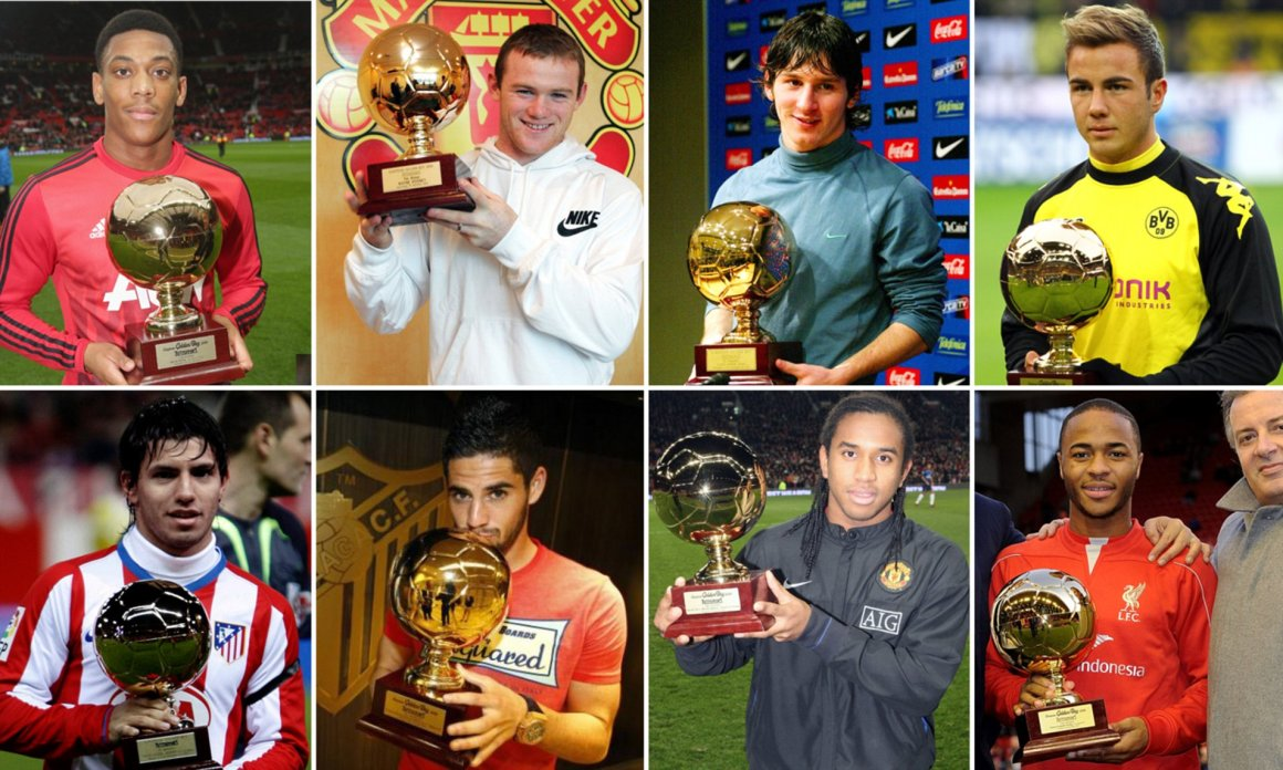 What did Golden Boy winners achieve after? Messi, Rooney.. | Daily Mail  Online