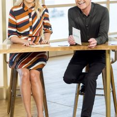 Leopard Print Sofa Appears Sfmeble Holly Willoughby Her Slimmest To Date In Jumper ...