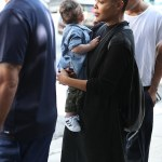 Janet Jackson Spotted With Son,Eissa In West Hollywood