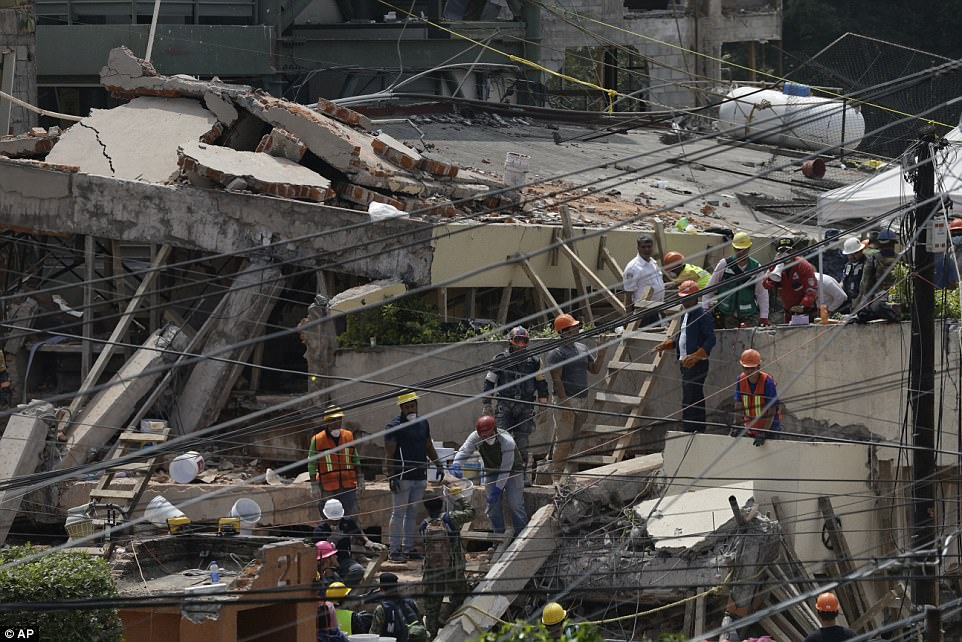 Mexico was devastated by a 7.1 magnitude, killing more than 230 people and leaving hundreds more trapped underneath collapsed buildings