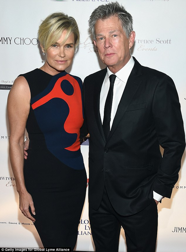 Lyne no reason: David Foster has said there were 'other issues' behind his split from ex-wife Yolanda