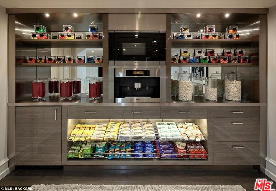'Money''s £18.9m 'Beverly Hills castle' also comes with its very own sweet shop that includes chocolate and popcorn