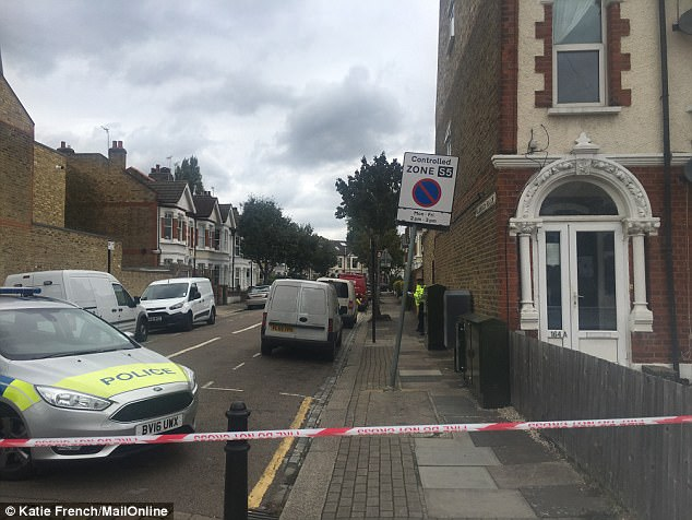 The incident happened at a property on Wimbledon Park Road in Southfields, south-west London