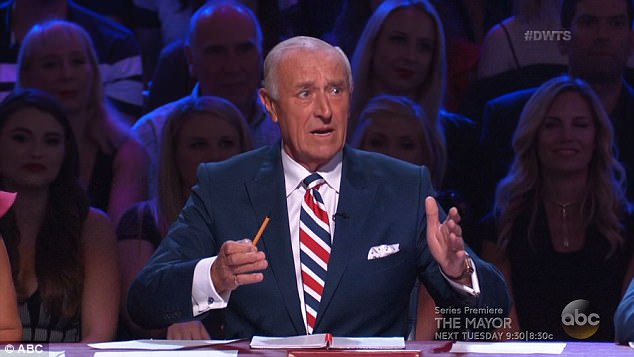 Head judge: Len Goodman wasn't impressed with Victoria's rumba