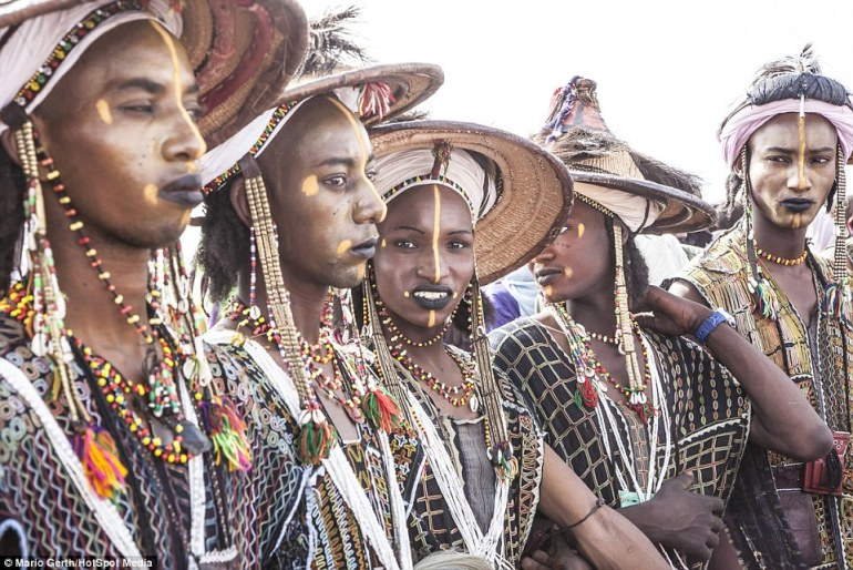 Traditional: The festival's main event is a dance called a Yaake but there are other events including camel racing