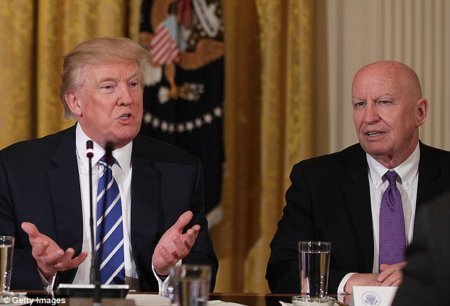 As President Trump pushes his tax plan, House Ways and Means chairman Kevin Brady (right) says he'll listen to congressmen from states that would be affected most if citizens lose deductions for state and local income taxes