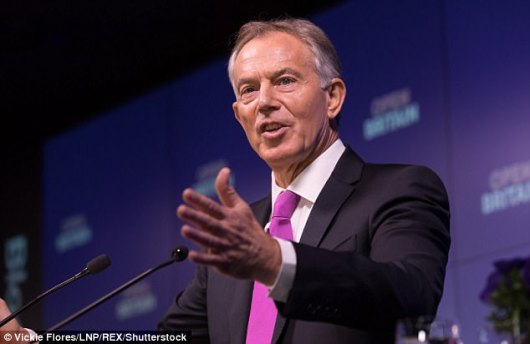 Tony Blair has been drawn into Labour¿s bitter anti-Semitism row after condemning rock star Roger Waters for spewing ¿ideological poison¿ about Israel