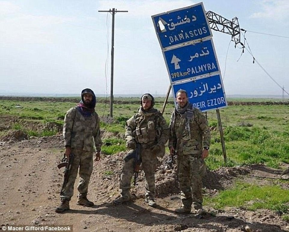 He has been fighting with the MFS for the last two months, and before that he fought with the Kurdish YPG militia