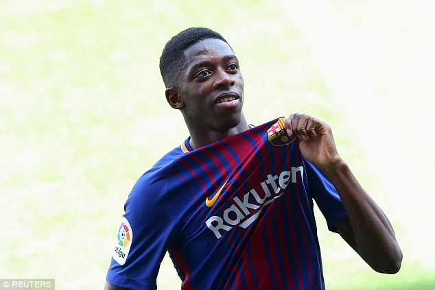 Barcelona are protecting Ousmane Dembele with a huge release clause after losing Neymar