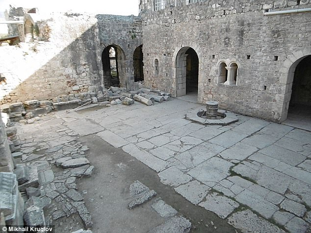 Researchers now believe at the time of his death in 343 A.D., Saint Nicholas was interred at the church in Demre (pictured), where archaeologists argue his remains are still buried