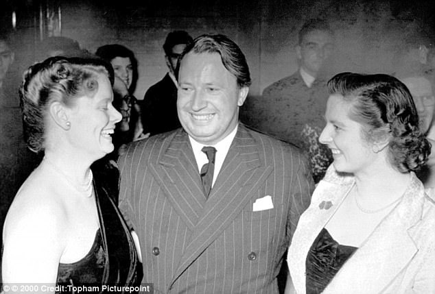 Allegation: Ted Heath was accused of raping a 12-year-old boy who said he worked out his identity after seeing a picture of him with Margaret Thatcher (right) and Dame Pat Hornsby Smith (left). This may be the picture he described