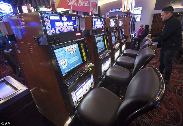 Fast and furious: These are the video poker machines which allowed Paddock to gamble stakes of up to $100,000 in an hour by playing multiple hands at once