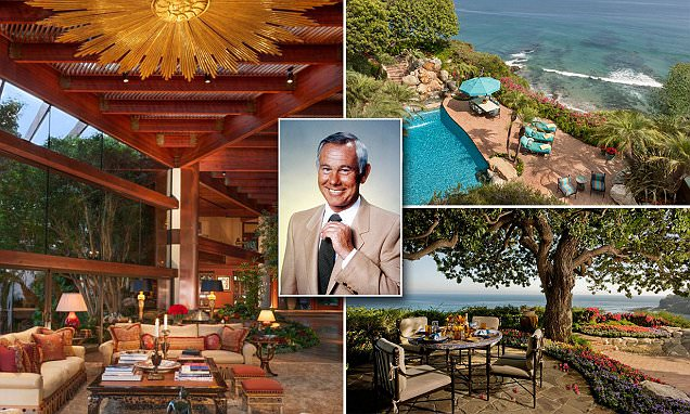 Johnny Carsons home in Malibu for sale for 815million
