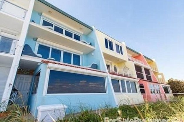 The Swedish model bought the two-bedroom, three and a half-bathroom unit at the San Remo Townhouses, a small complex in the tiny beach resort town of Juno Beach, in May 2011 for $1 million