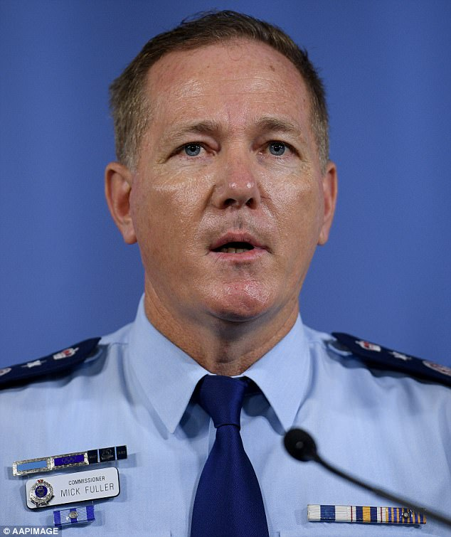 NSW Police Commissioner Mick Fuller took inspiration from the UK's 'armed repose' model