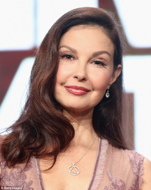 More allegations: Ashley Judd has also accused Weinstein of sexual harassment, telling the New York Times the producer invited her to a 'business meeting' in his hotel room before greeting her with a bathrobe and asking whether she wanted to give him a massage or watch him shower