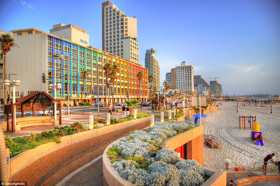 Different strokes: A brightly-coloured Tel Aviv has long been a popular, comfortable place for LGBT tourists to visit
