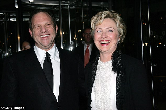 Weinstein has donated heavily to Clinton and although she said she was shocked and dismayed by his actions, she hasn't returned any of his contributions