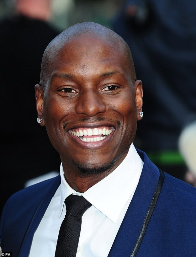 Not smiling now: 'Fast and the Furious 9 is not coming out until 2020,' the Baby Boy actor added. 'That¿s f**cked up,' said the Baby Boy actor, pictured here in 2013
