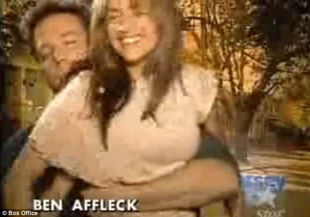 TV host Anne-Marie Losique (pictured sitting of Affleck's lap in the interview), whose 2004 interview with Ben recently went viral, claimed Wednesday she was not a victim of harassment