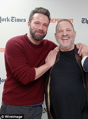 Ben Affleck, Harvey Weinstein