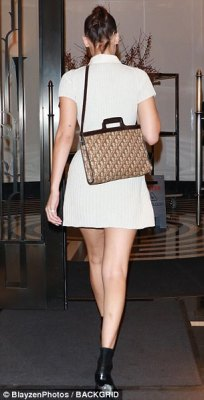 Bella Hadid Flirty And Chic Style In New York