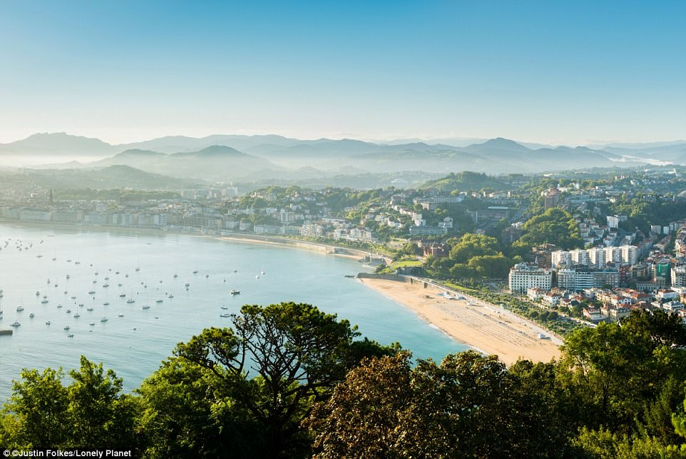 Eat your heart out:Spain's San Sebastian scores major points for its pintxo bars, which can be found all over the old town