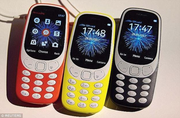 The phone is in direct competition with Nokia's recently-revived 3310, which costs £41 ($54)