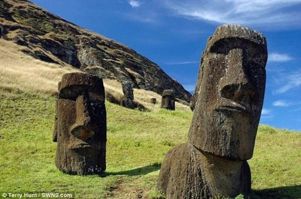 The mystery of how Easter Island came to be inhabited looks set to remain unsolved, after DNA analysis revealed Native Americans did not help to populate the island. Archaeologists have previously suggested people from Polynesia and the Americas intermingled in its early history