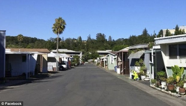 Pictured here is the Journey's End mobile home park, where Linda Tunis used to live