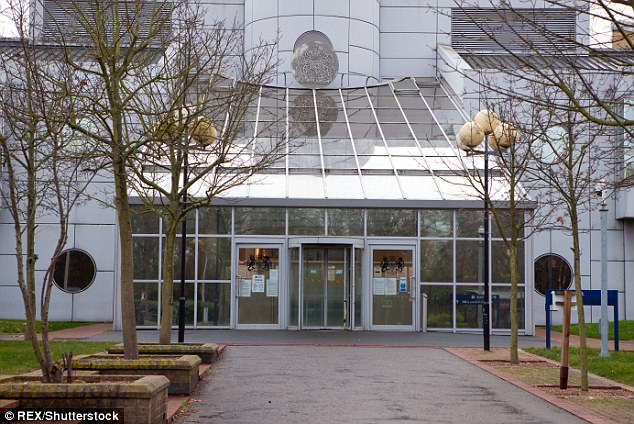 Taheer, from Birmingham, denies one count of preparation to commit acts of terrorism at Woolwich Crown Court (pictured)