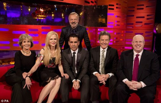Fun-filled: The Graham Norton Show is on tonight (Friday) at 10.35pm on BBC1
