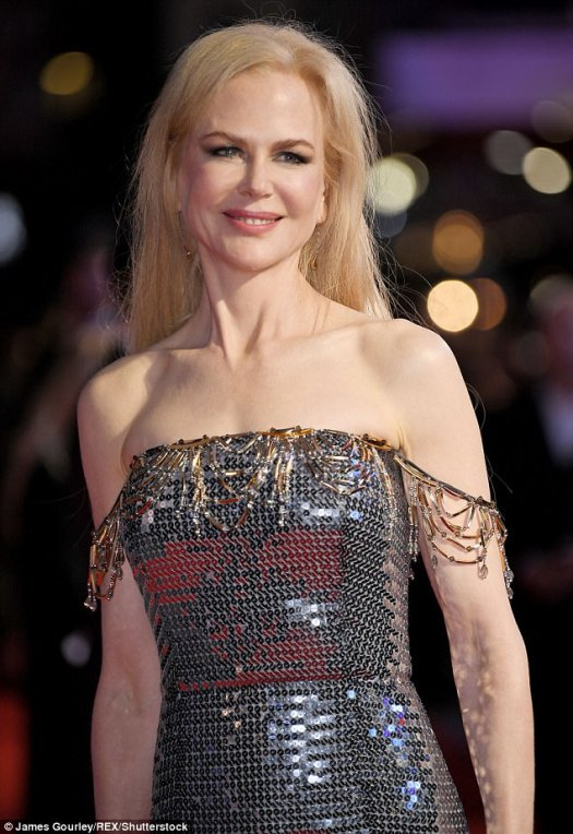 Advice:Nicole Kidman, 50, has offered advice to young women in Hollywood in the wake of the Harvey Weinstein sexual harassment scandal, urging them to stay strong and not to let anyone 'break your spirit'