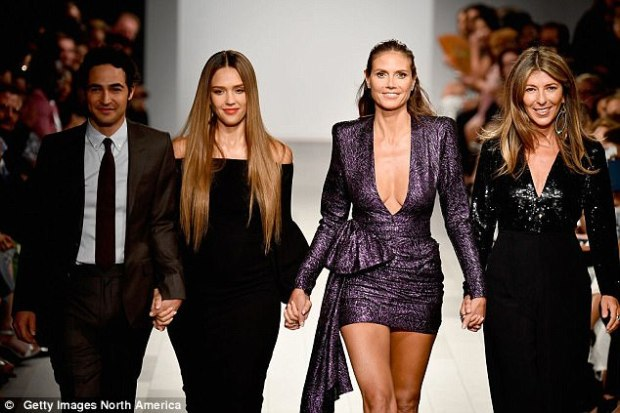 The movie mogul's former company, The Weinstein Company, have co-produced Project Runway since 2012 but Weinstein has now been stripped of his executive producer credit
