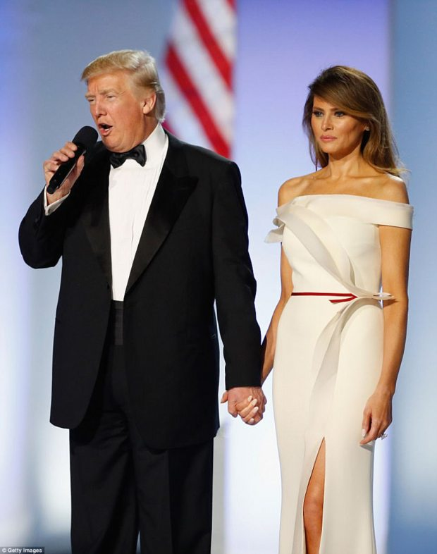 Fighting words: However, Melania issued a statement through her spokesperson that Ivana is attention-seeking and her first lady comment was 'self-serving noise'