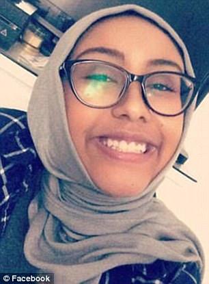 Nabra Hassanen, 17, was killed in an alleged road rage incident by Darwin Martinez Torres