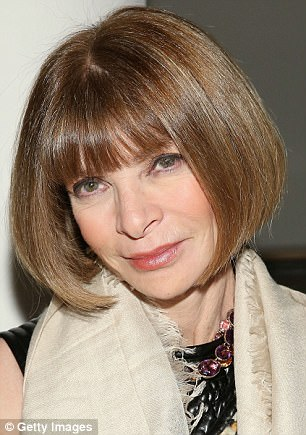 Anna Wintour (pictured), editor-in-chief of Vogue magazine, has spoken out against Harvey Weinstein