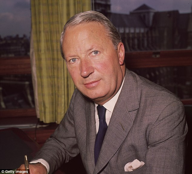 A recent report saidseven of 42 allegations of assault by Ted Heath (pictured) of young boys would justify questioning him under caution